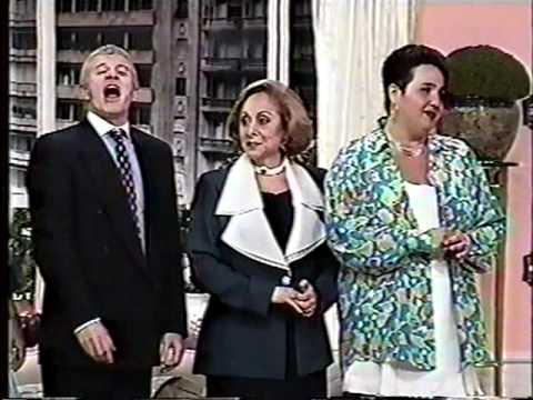 Sai de Baixo 1996 - Dercy Gonçalves mostra os peitos!