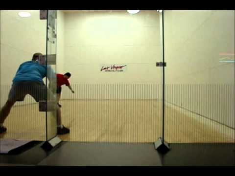 How to Play Racquetball - Ty Gameplay Analysis