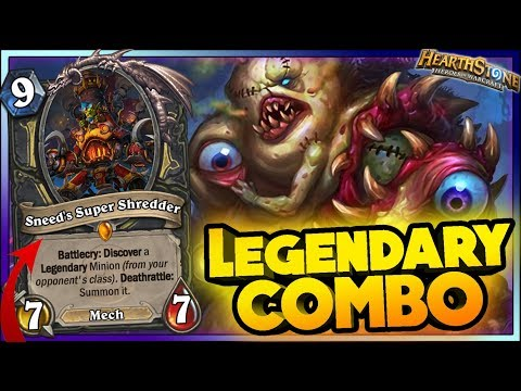 LEGENDARY COMBO WTF Moments - Hearthstone Funny Rng Moments