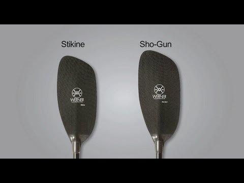 Shogun Whitewater Paddle Carbon