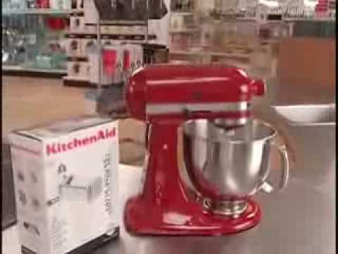 Kitchen aid stand mixer youtube - Kitchenaid mixer bayleaf ...