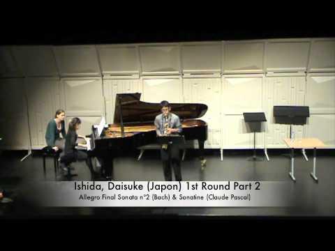Ishida, Daisuke (Japon) 1st Round Part 2