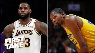 Kevin Durant is coming for LeBron James' mantle - Max Kellerman | First Take