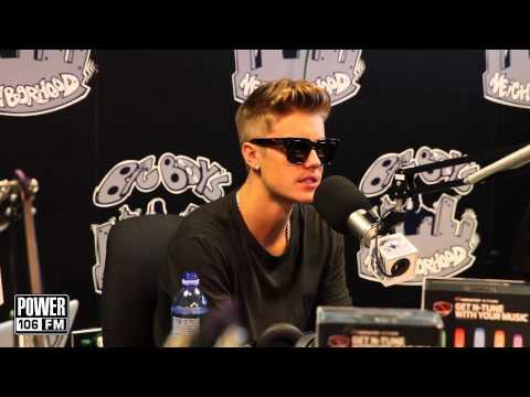 "Justin Bieber talks about ""Confident"""