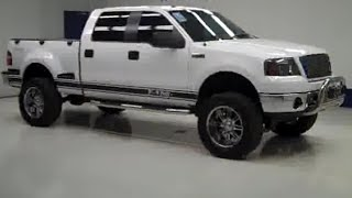 2006 Ford F-150 SUPERCREW-FLARESIDE 6 1/2 FT BOX-LIFT-4WD
