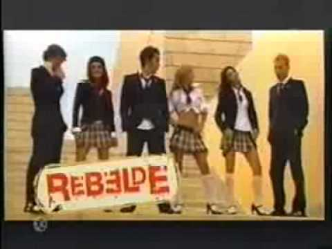 Vídeo de abertura da 2° temporada da novela Rebelde, Nuestro Amor-RBD.