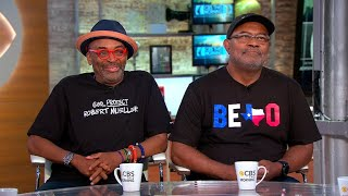"Spike Lee, real-life Ron Stallworth talk new film ""BlacKkKlansman"""