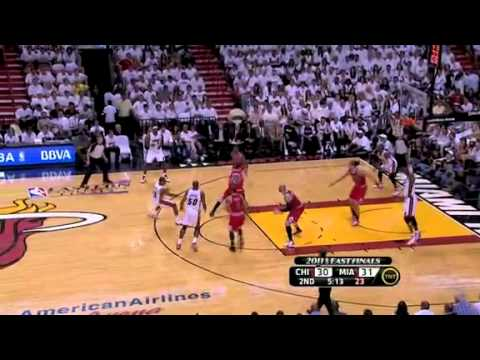 NBA Playoffs 2011: Chicago Bulls Vs Miami Heat Game 3 Highlights (1-2)
