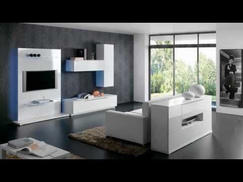 Muebles salones modernos y comedores modernos mobiliario - Pinturas salones modernos ...