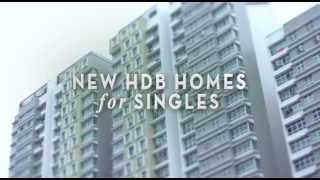 HDB Advertises New 2-room BTO Flats For Singles, Including