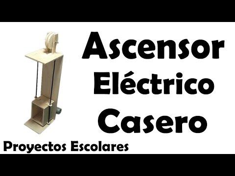 Proyectos   Ascensor Eléctrico Casero - Muy fácil de hacer