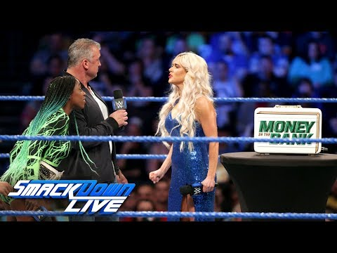 Lana demands to be added to Women's Money in the Bank Ladder Match: SmackDown LIVE, June 6, 2017