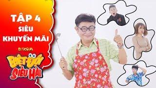 """Biệt đội siêu hài   Tập 4 - Tiểu phẩm: Lê Lộc, Phạm Hy ra tay đối phó """"ông chủ lưỡi lam"""" Anh Tuấn"""
