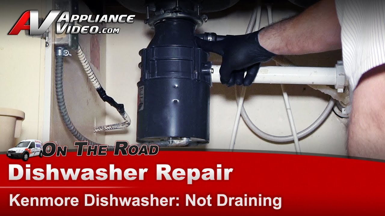 how to fix samsung dishwasher not draining