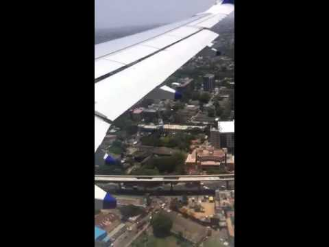 Indigo flight landing Chennai(Anna International Airport)