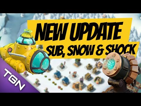 BRAND NEW BOOM UPDATE!!! - Submarine, Shock Cannon and SNOW?!?!