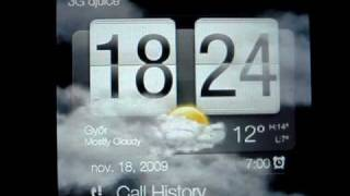 HTC Touch Diamond2 (Topaz) with Official WinMo 6.5 ROM view on youtube.com tube online.
