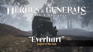 Heroes & Generals - 'Everhart - Knights of the road' Frissítés