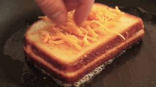 Best way to make a grilled cheese!