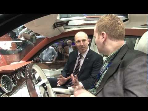 BILLIONAIRES ROW TALKS TO BENTLEY INTRODUCES THE NEW 2013 BENTLEY TRUCK
