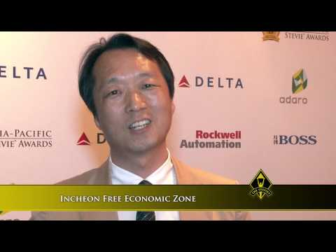 Incheon Free Economic Zone wins at the 2014 Asia-Pacific Stevie Awards