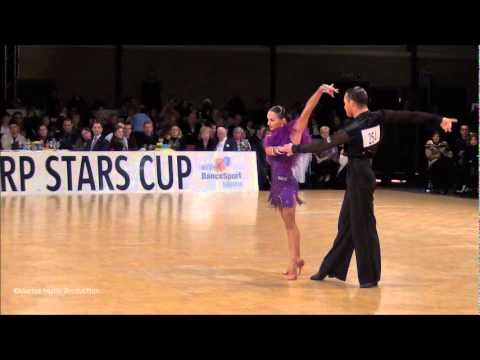 12th Antwerp Stars Cup - GrandSlam Latin - solo Rumba - Andrey Zaytsev &amp; Anna Kuzminskaya