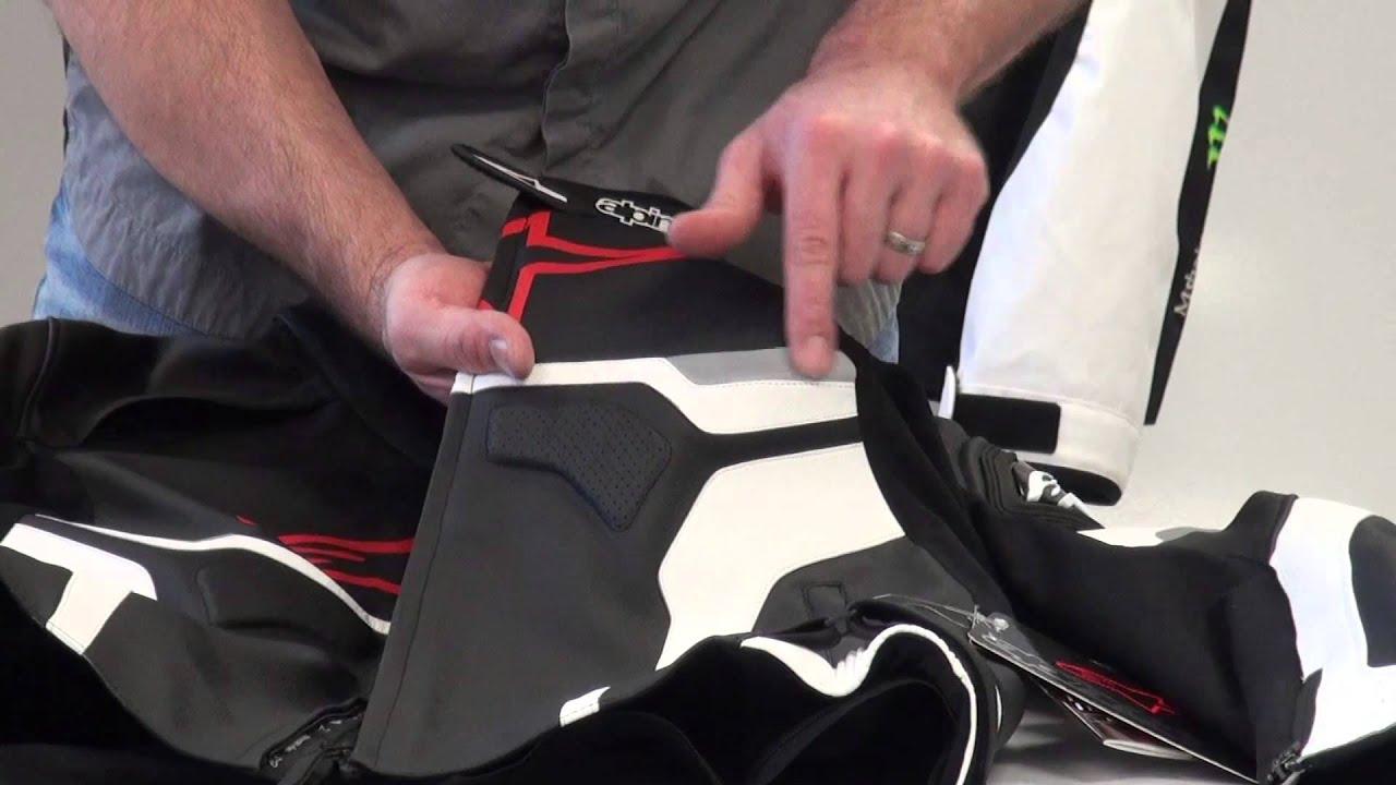 Alpinestars Celer Leather Jacket Review from SportbikeTrackGear.com - YouTube