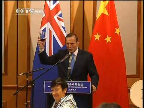 Tony Abbott attends Australia China CEO Round table meeting