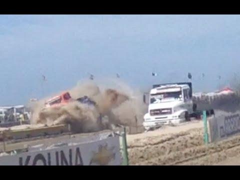 Acidente XXV Arrancada de Caminhões