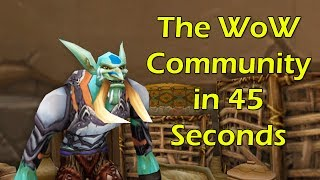 The WoW Community in 45 Seconds by Wowcrendor (WoW Machinima)