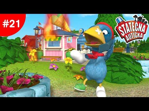 Statečná autíčka – Ep21 - Zmrzlinový stánok hořrí