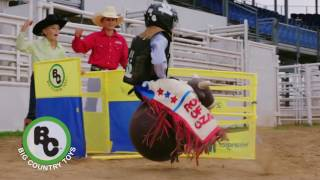 Big Country Bouncy Bull and NFR Bucking Chute: NFR Commercial