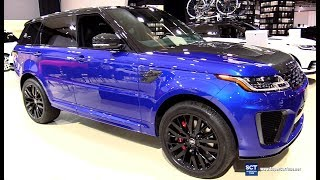 2018 Range Rover Sport SVR - Exterior and Interior Walkaround - 2018 Montreal Auto Show
