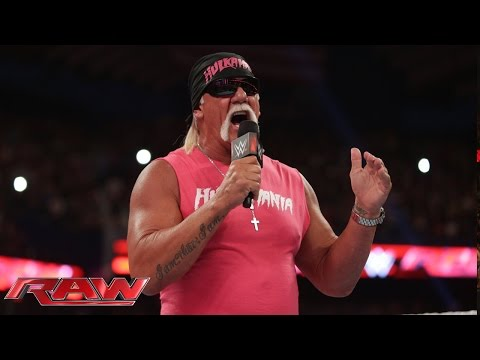 Hulk Hogan discusses WWE's ongoing partnership with Susan G. Komen: Raw, Sept. 29, 2014