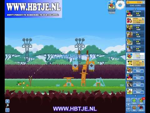 Angry Birds Friends Tournament Level 4 Week 121 (tournament 4) no power-ups
