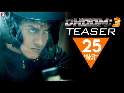 DHOOM:3 TEASER - Aamir Khan | Abhishek Bachchan | Katrina Kaif | Uday Chopra - Teaser Trailer