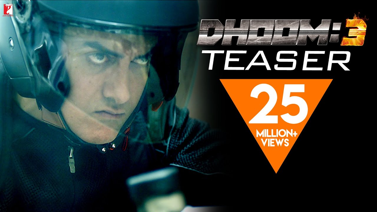 Dhoom 3 - Official Teaser