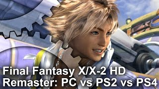 FINAL FANTASY X/X-2 HD Remaster - PC vs PS2 vs PS4 Grafikai Összehasonlítás