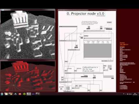 VVVV Tutorials Mapping 3D
