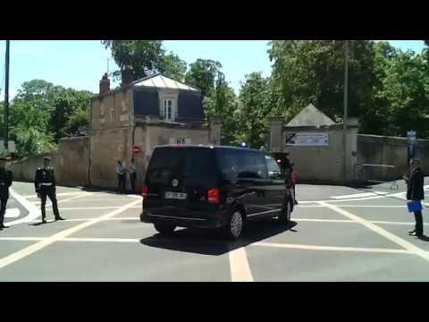 cortege barack obama chateau de benouville