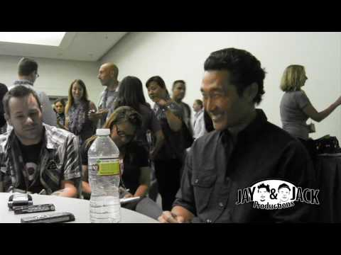 Daniel Dae Kim on Hawaii Five-O. (HD) Exclusive! Comic Con 2010
