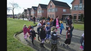 Carnavalsoptocht scholen Landweert Venray 28 februari 2014