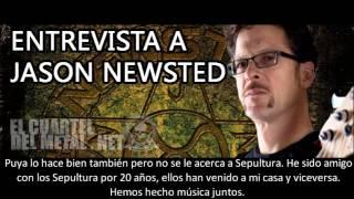 NEWSTED entrevista Elcuarteldelmetal.net (Parte 1)