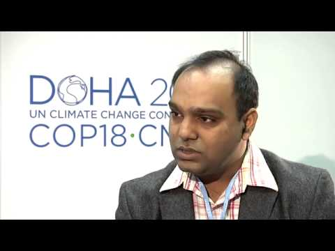 COP18: Sanjay Vashist, Director, Climate Action Network South Asia