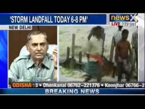 NewsX : Cyclone Phailin is set to become the strongest India has ever seen, to hit eastern coast