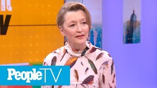 'Phantom Thread': Lesley Manville Talks Working With Daniel Day-Lewis On Film | PeopleTV
