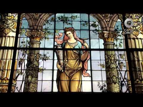 María, recorrido por algunos vitrales del D.F.