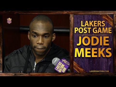 Lakers vs. Warriors: Jodie Meeks On Team's Resilience, 'We Could've Easily Packed It In'