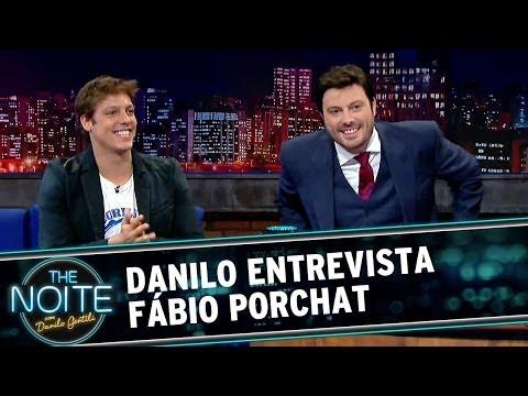 Fábio Porchat é o primeiro entrevistado de Danilo no The Noite