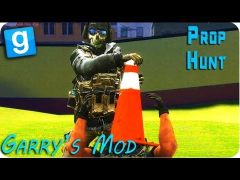 Gmod (Garry's Mod) - HIDE AND SEEK - PROP HUNT! - YouTube